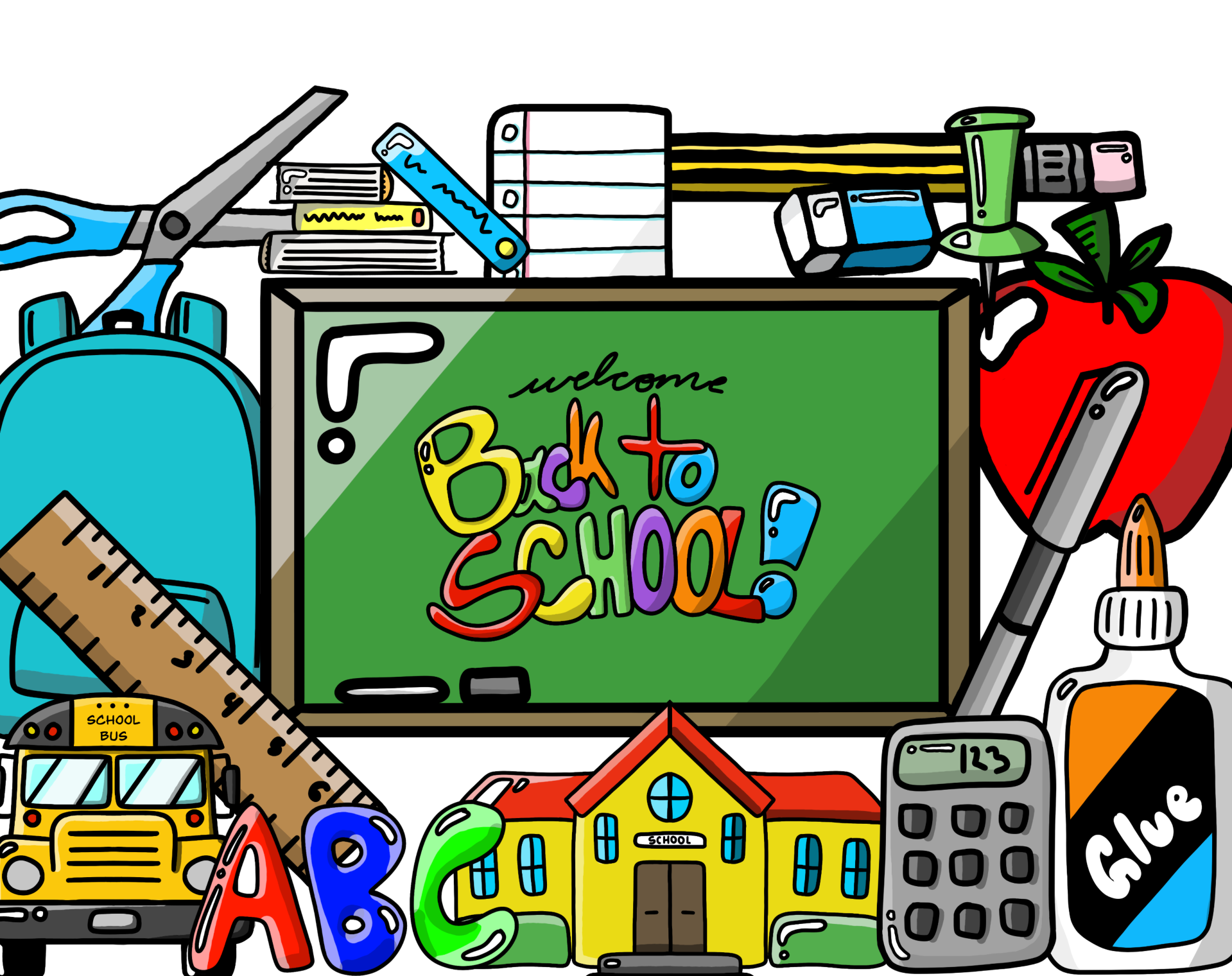 Large Back to School Essentials Pack.