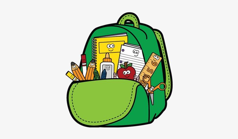 School Backpack Clip Art.