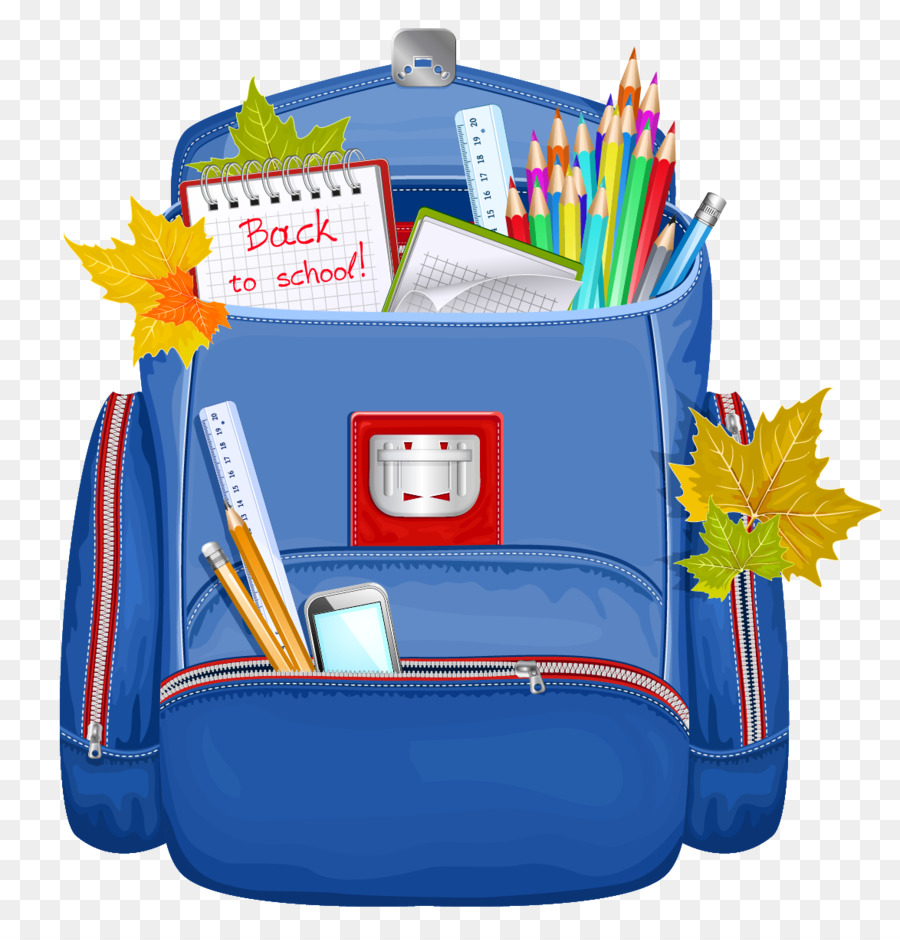 School Bag Cartoon.