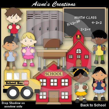 Back to School Clipart Pack.