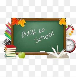 Back To School Season, School Clipart, Simple, Creative PNG.