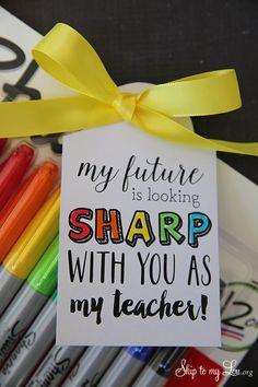 Teacher Appreciation Gift.