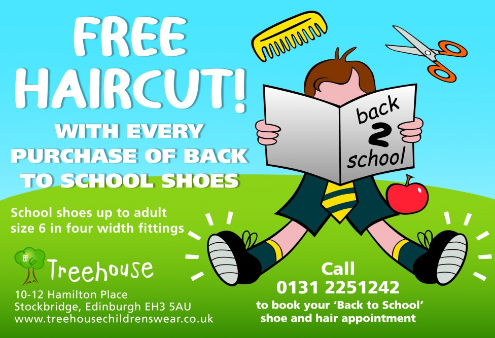 Preparation for 'Back to School' 2015 with Treehouse: School Shoes.