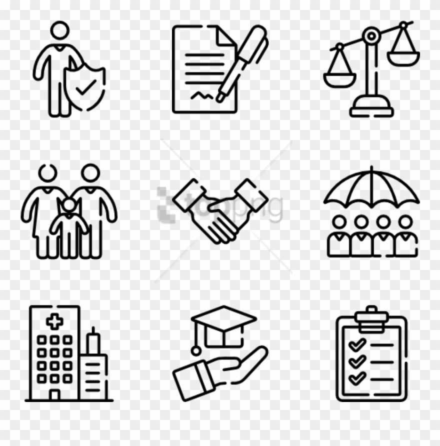 Free Png Insurance Icons.
