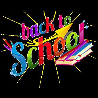 Back To School Logo Clip Art.