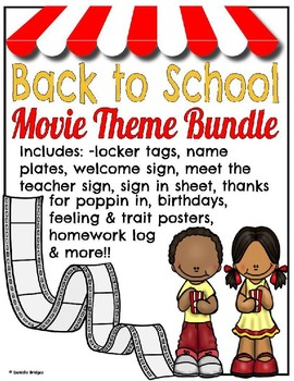 Back To School Movies Theme Worksheets & Teaching Resources.