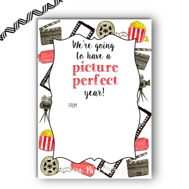Movie Back to School Gift Card Holder.