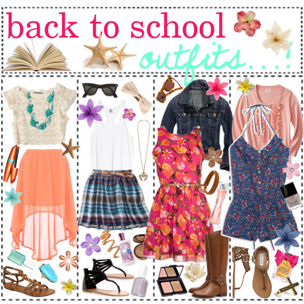 Back To School outfits ♥.