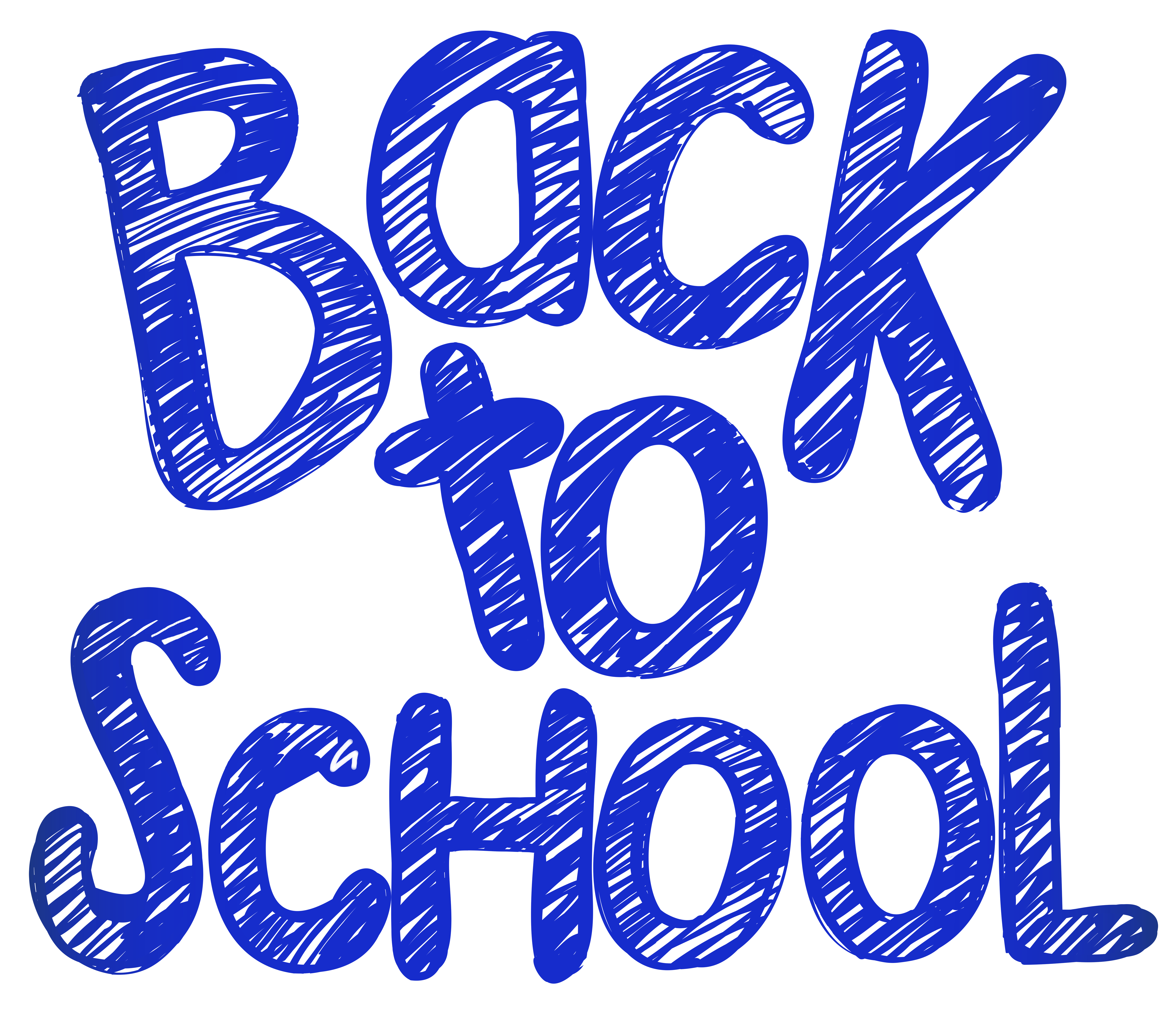 Back to School PNG Clip Art Image.