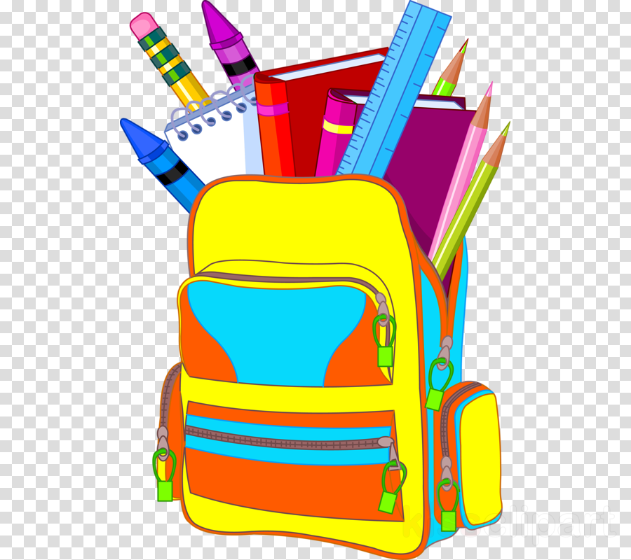 Back To School School Bag clipart.