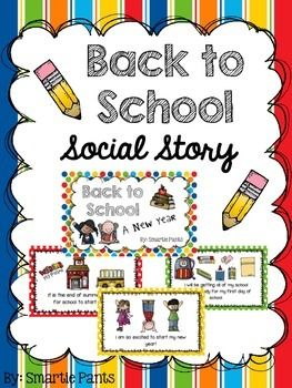 Back to School Social Story.