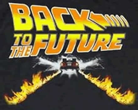 Back to the future clipart.