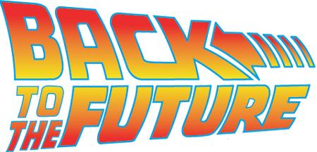 Back to the Future Clip Art.