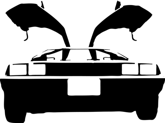delorean car clipart Clipground