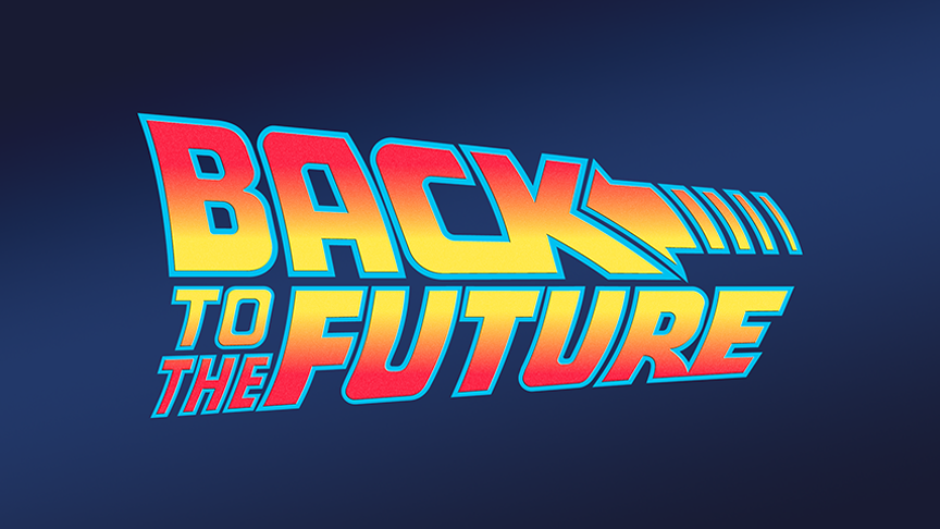 Back to the future 2002 by Cyril B. at DailyFont.com.