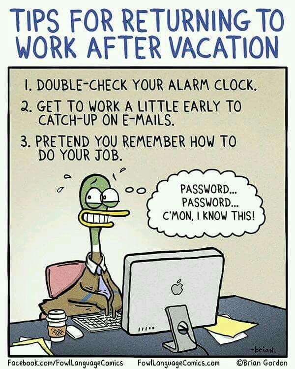 back to work after vacation clipart 20 free Cliparts ...