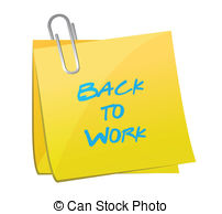 Back to work Clipart and Stock Illustrations. 2,222 Back to work.