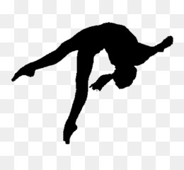 Gymnast Girl PNG.