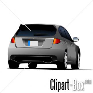 CLIPART MODERN CAR.