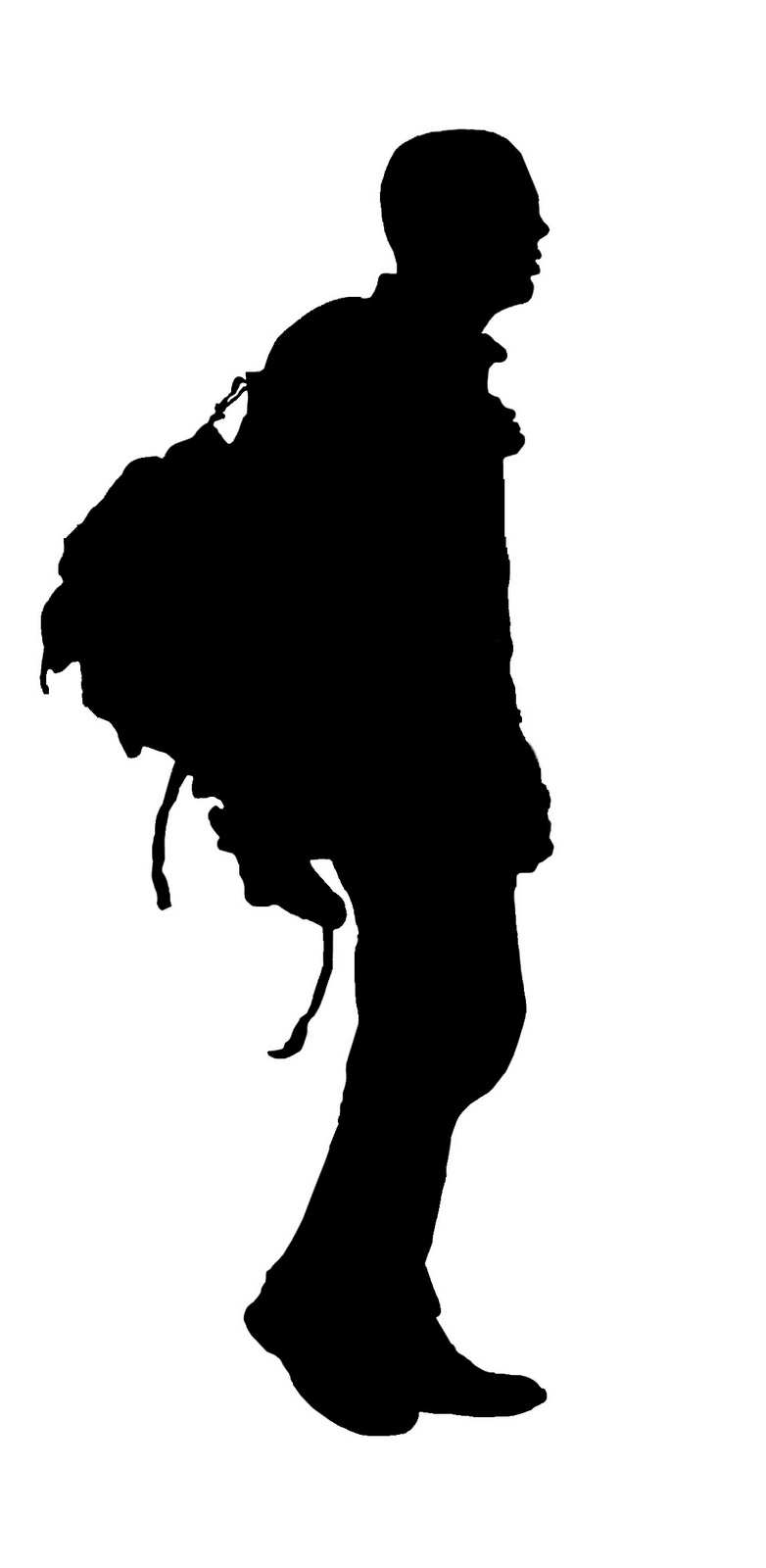 Free Silhouette Of A Man Walking, Download Free Clip Art.