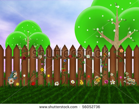Backyard Clip Art Images.