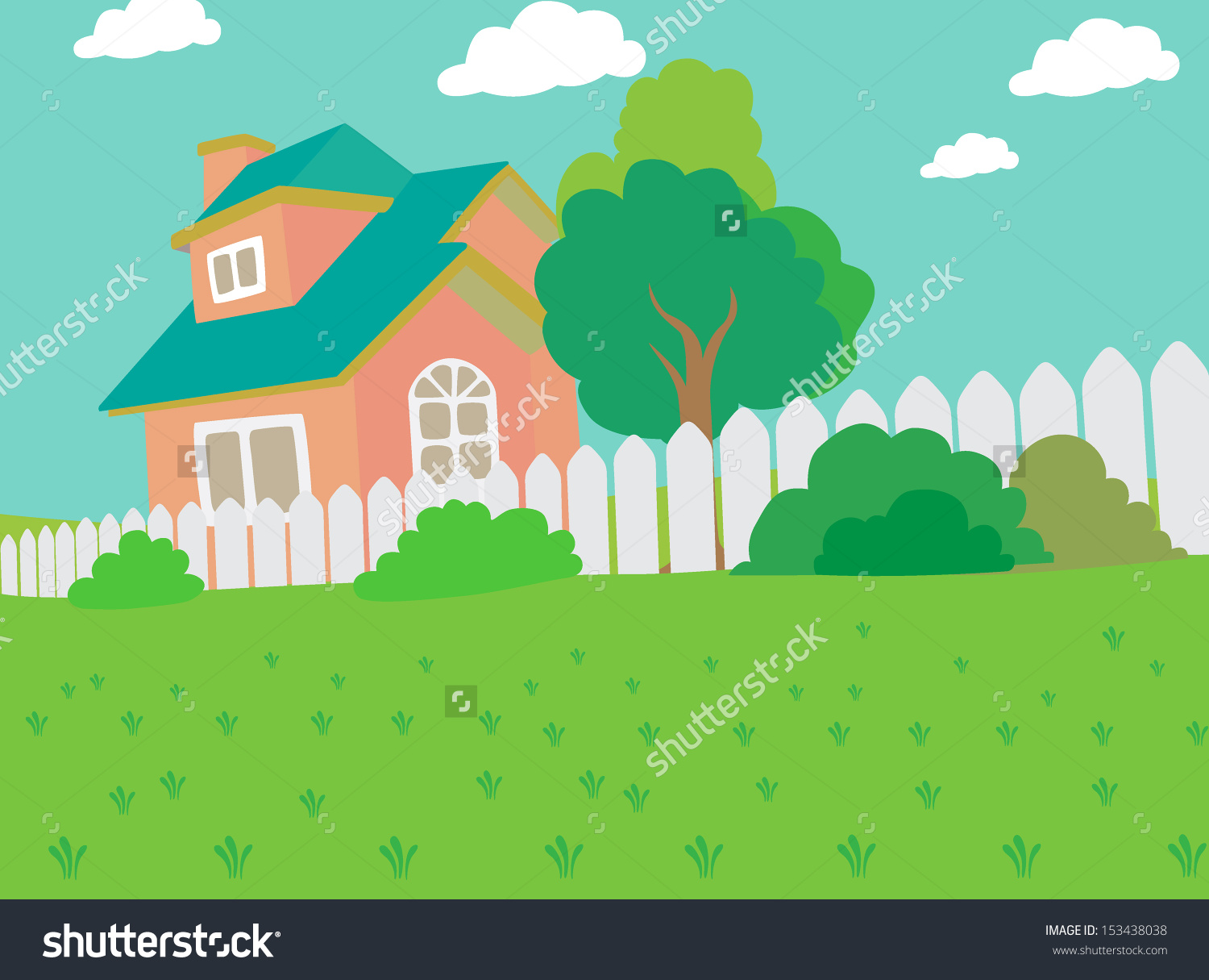 Back yard clipart - Clipground