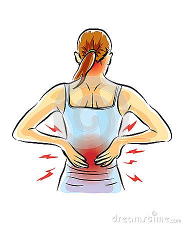 Pain Stock Illustrations.