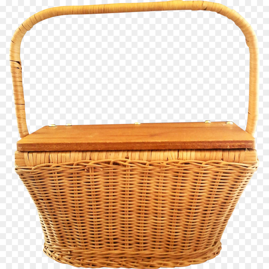 Basket clipart Wicker Basket Hamper clipart.