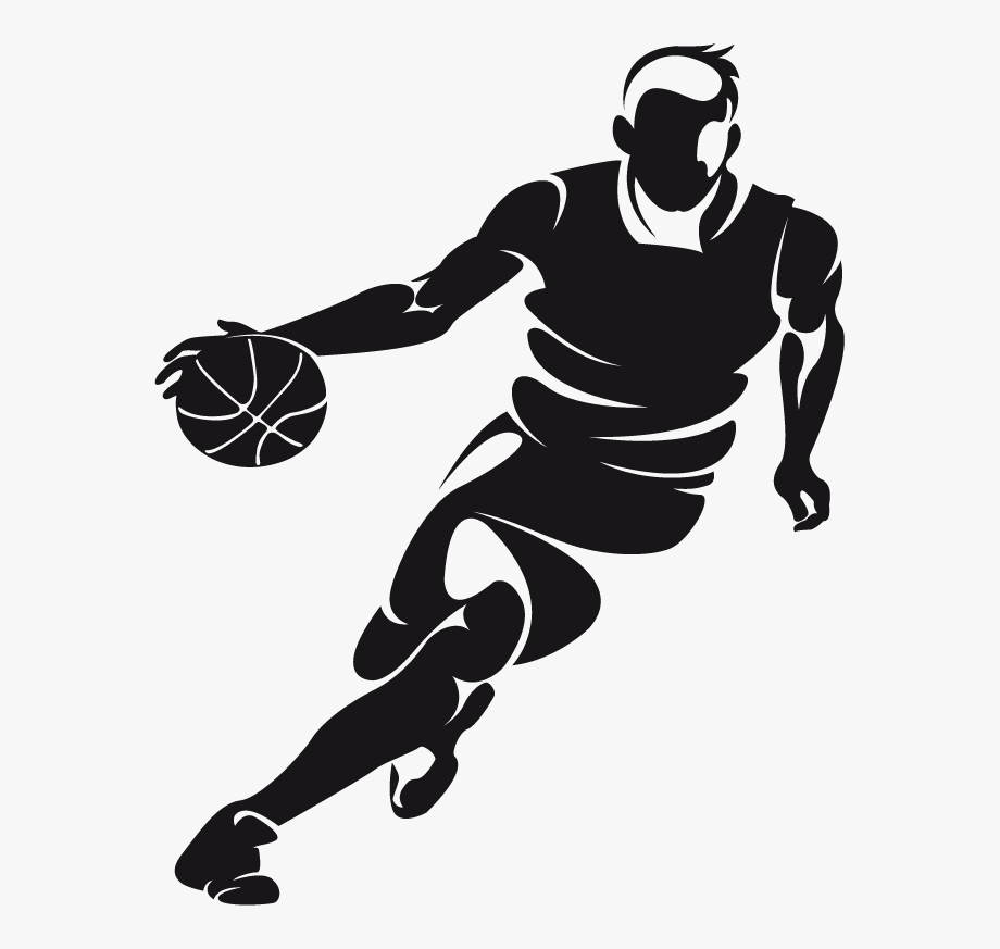 Clip Royalty Free Library Dribbling Basketball Clipart.