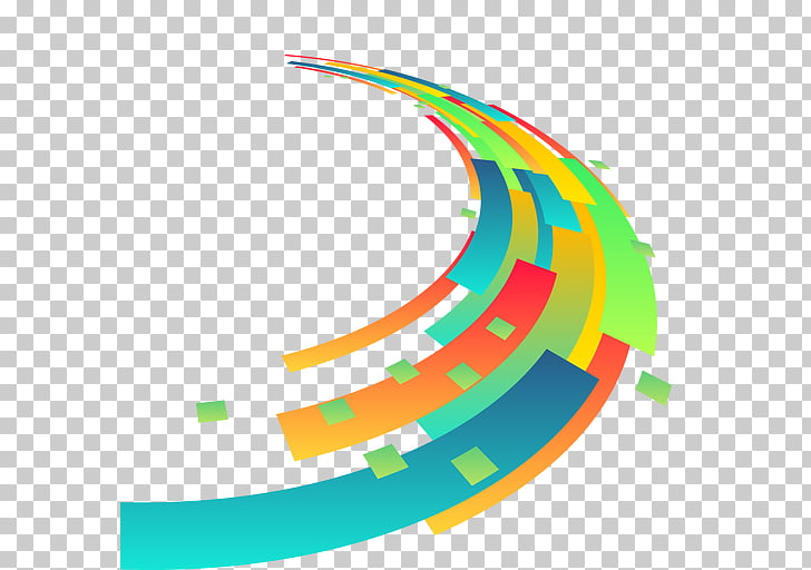 Colorful Shapes Desktop Geometry Line, abstract background.
