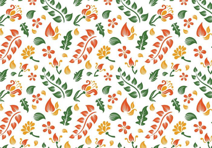 Free Batik Background Vectors.