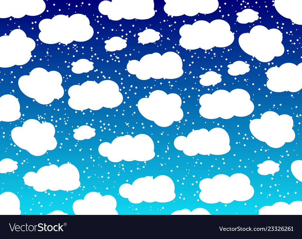 Cloud design baby background blue sky with clouds.