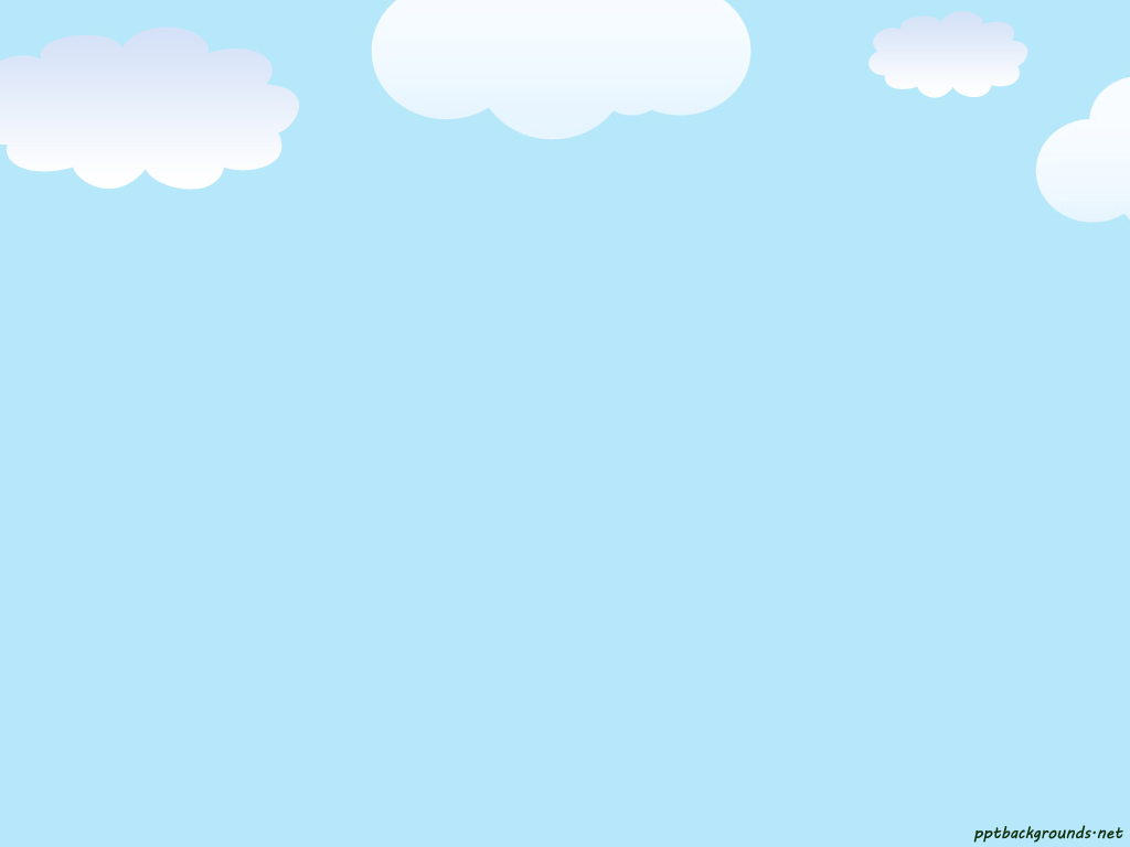 Clouds Background Clipart.