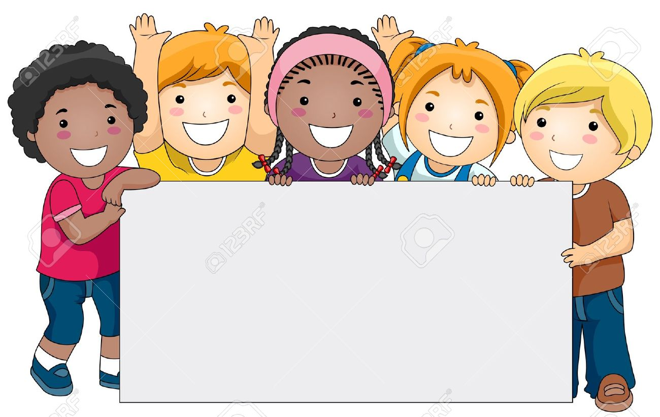Kids background clipart.