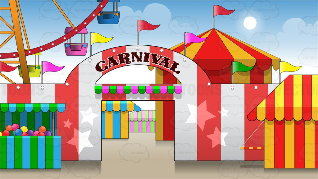Carnival Background Clipart.