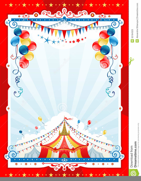 Free Carnival Background Clipart.