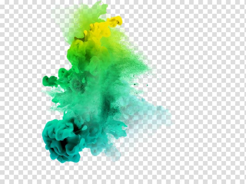 Green and yellow smoke , PicsArt Studio Smoke Editing, smoke.