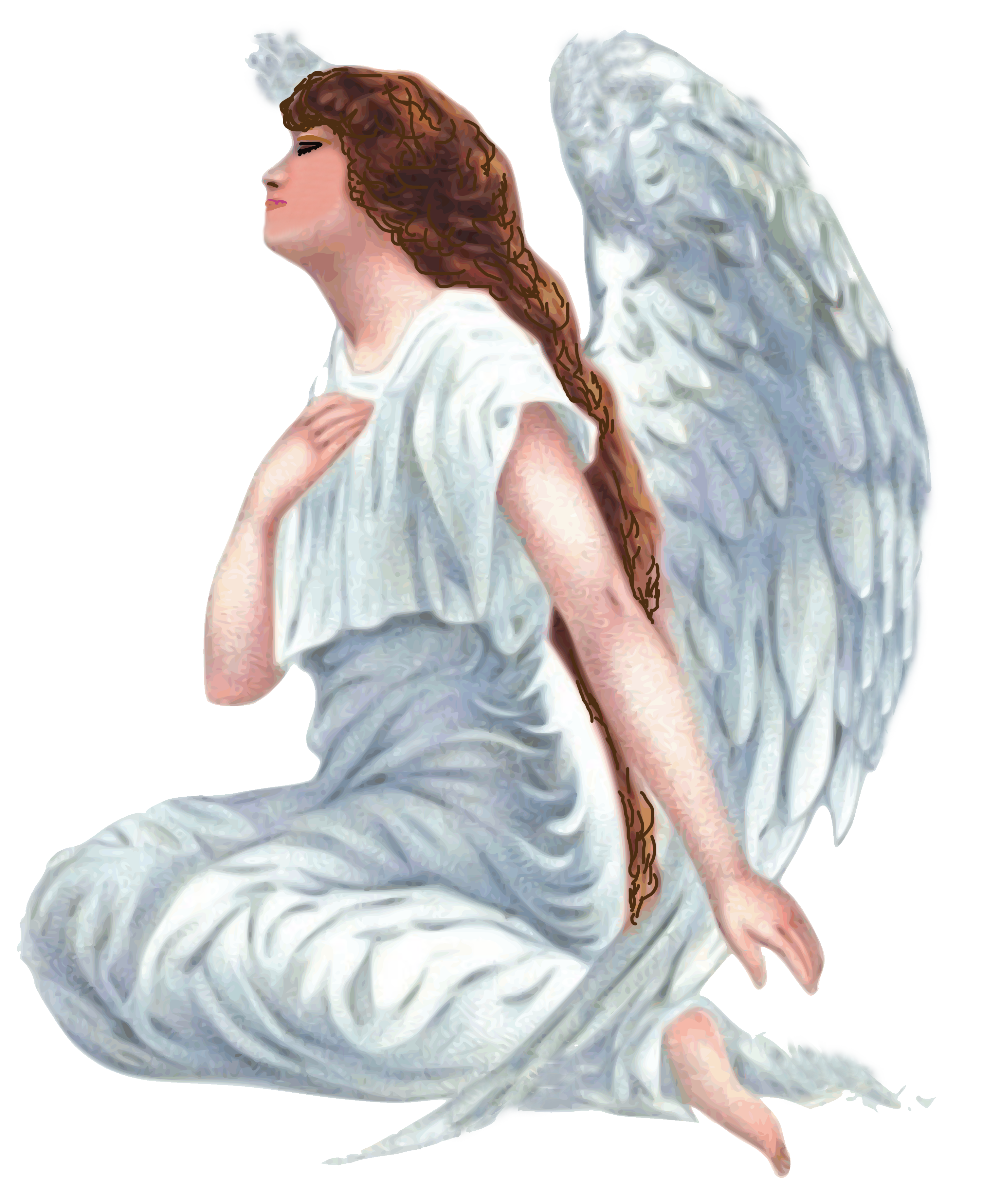 Guardian angel Religion Clip art.