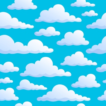 Clipart clouds background.