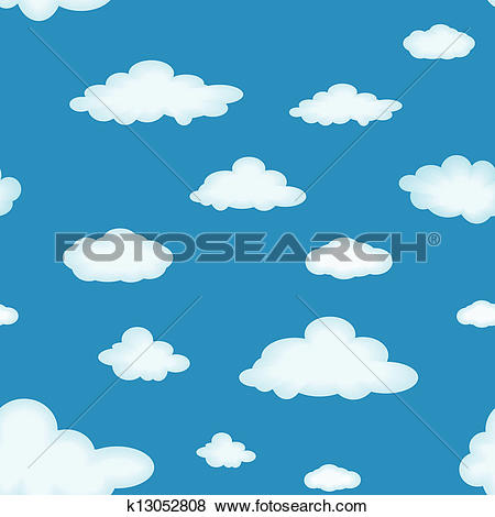 Stock Photo of Cloud background k3358853.
