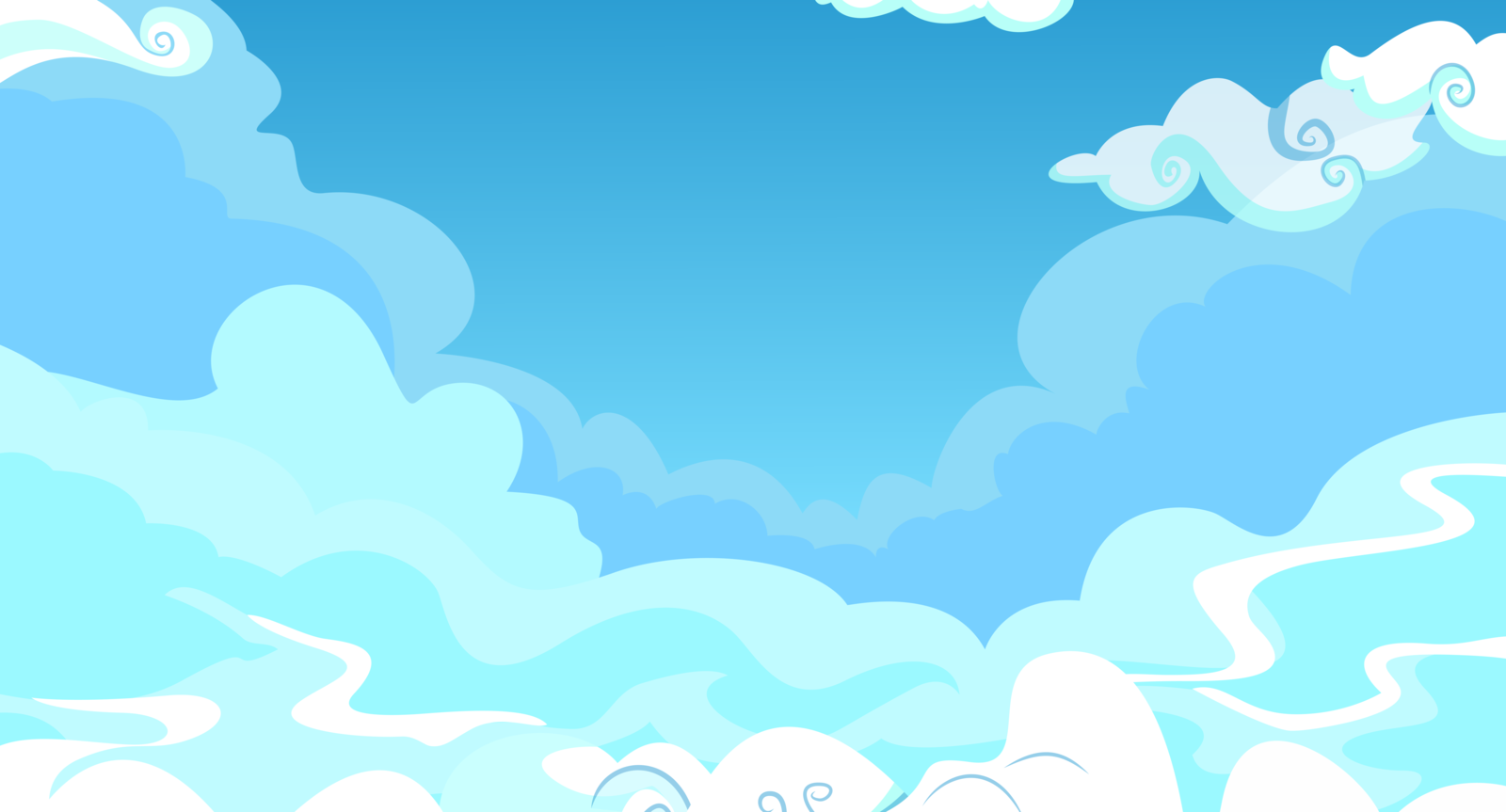Blue background clipart