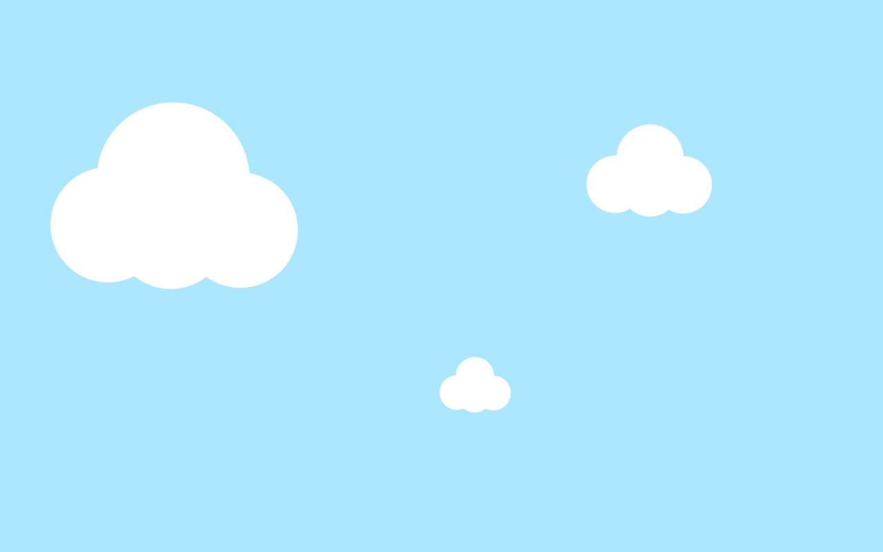 Clouds clipart background.