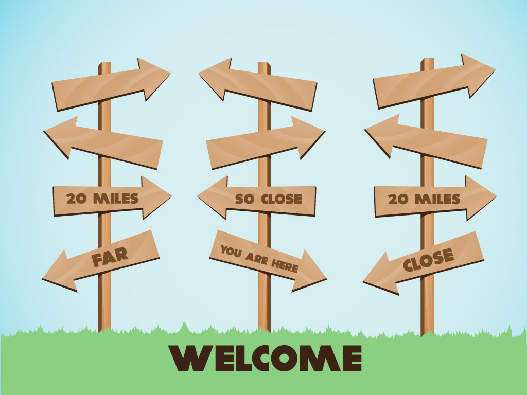 Cartoon Style Wood Signs For Your Background Collection Fun Clip.