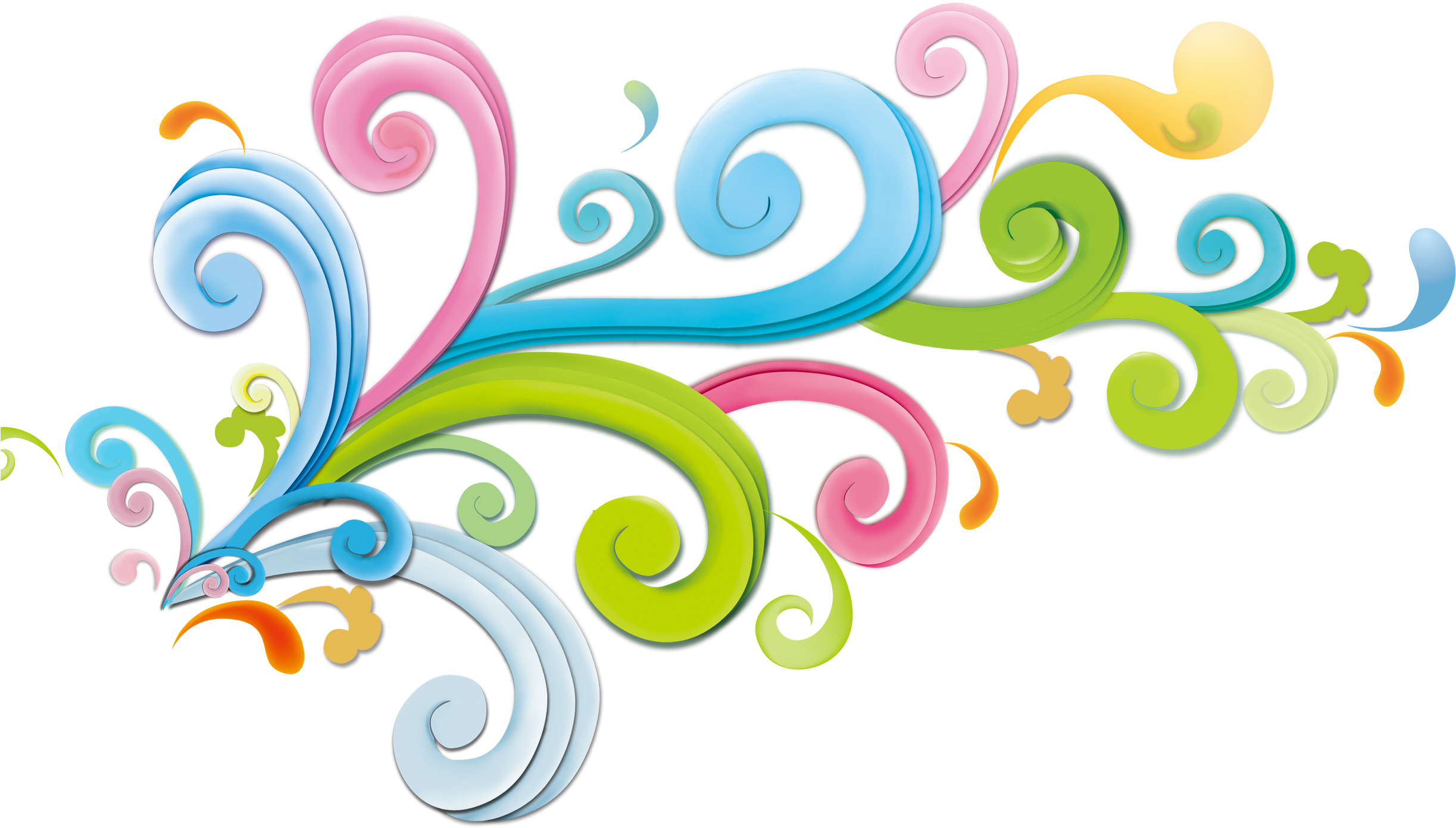Decorative Clipart Curly.