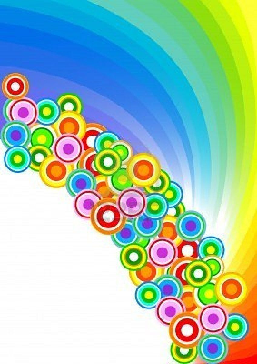 Vector Colorful Background; Clip.