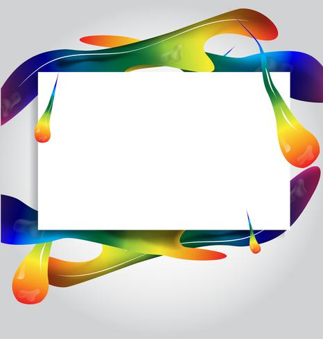 frames paint colorful background.vector illustration design.