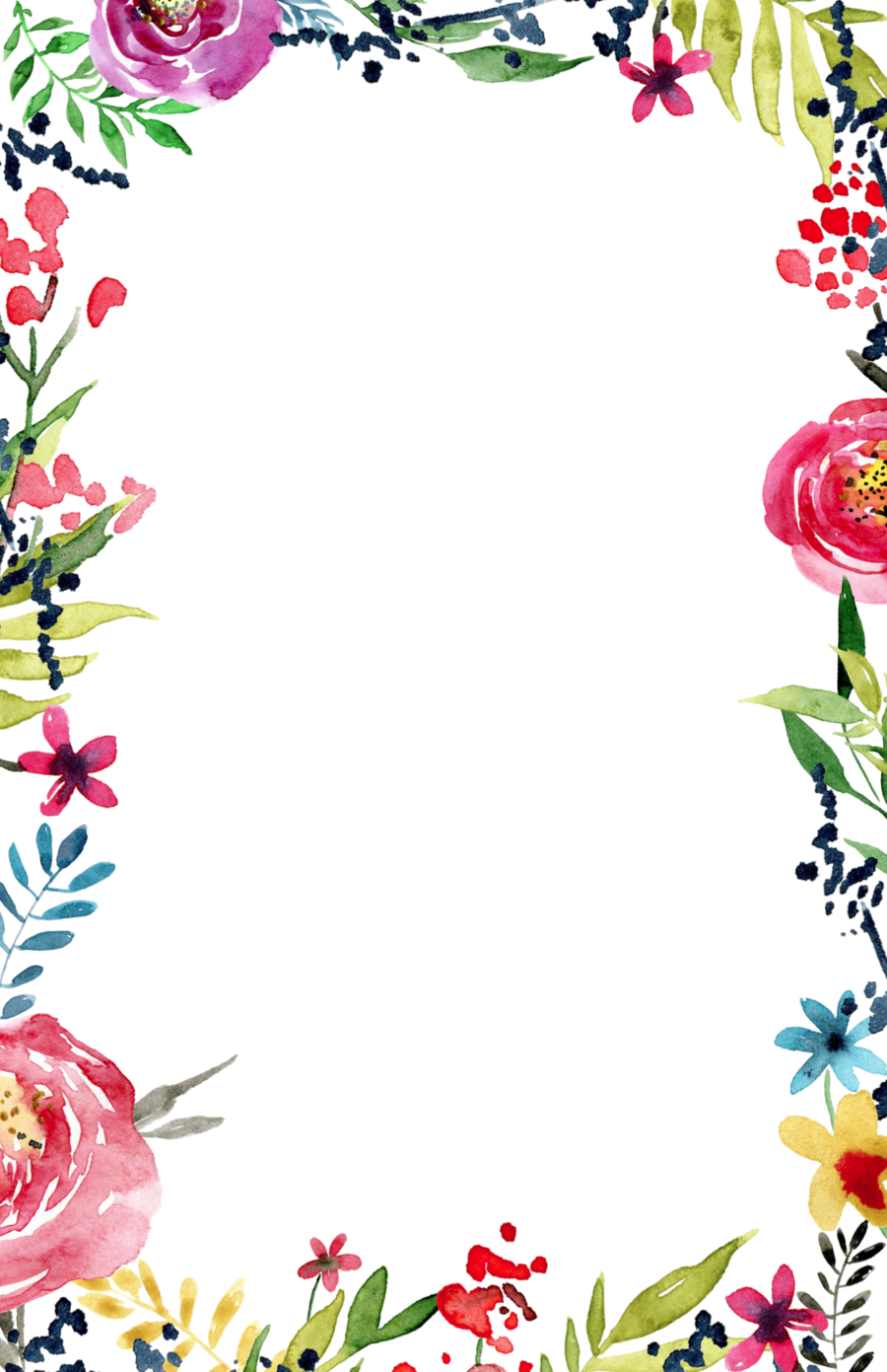 Floral Transparent Background Free.