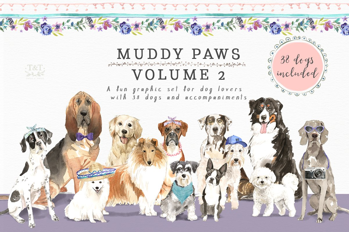 Muddy Paws Volume 2.
