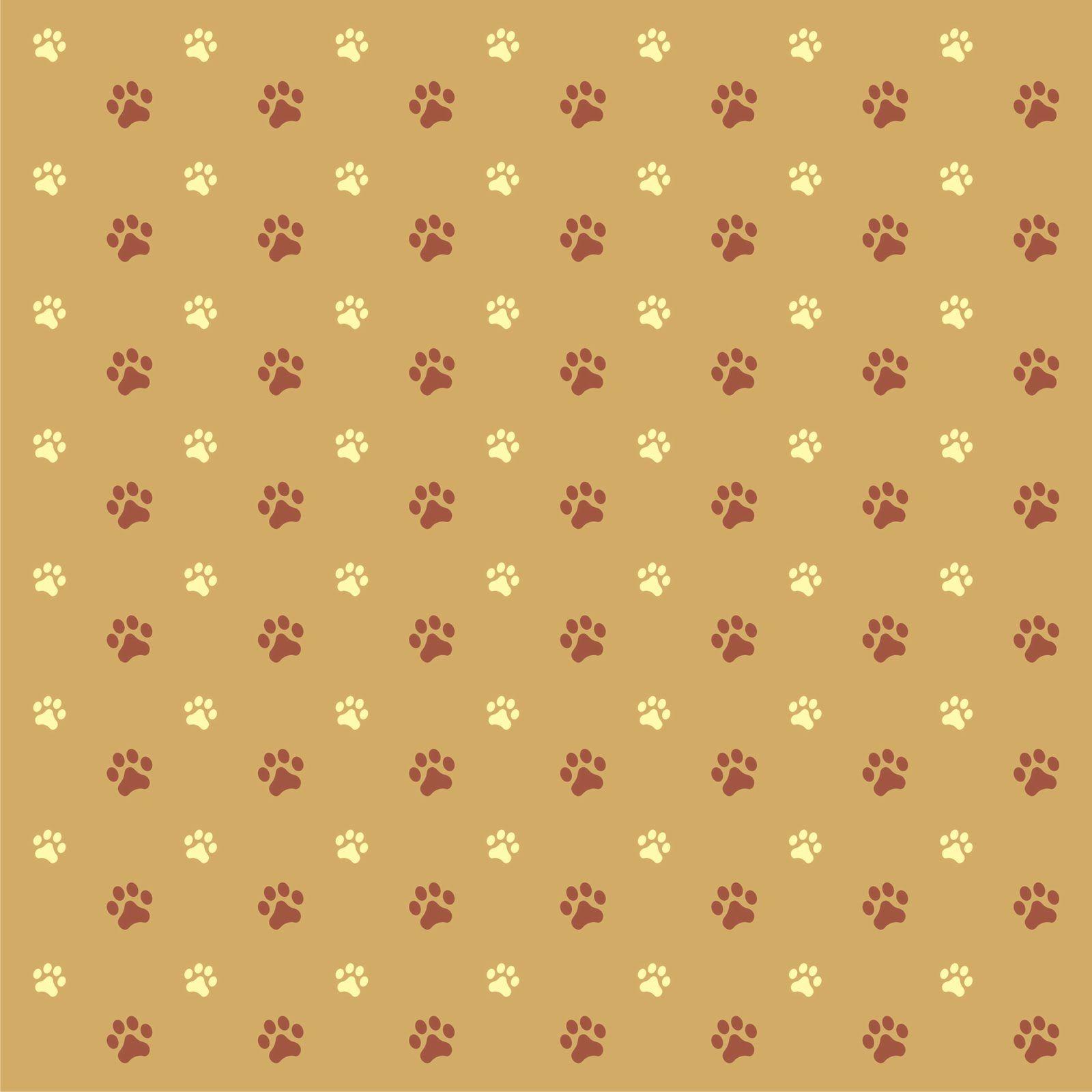 Free Paw Print Background.