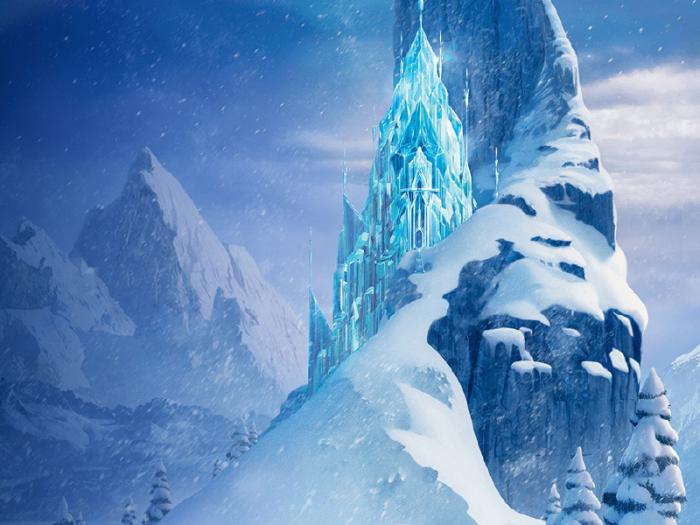 Disney Frozen Background Png Vector, Clipart, PSD.